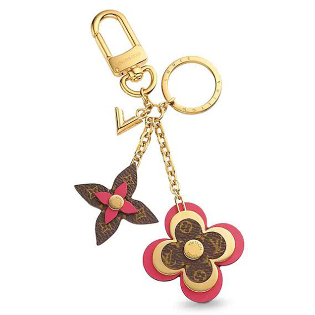 Louis Vuitton M63084 Blooming Flowers Bag Charm And Key Holder