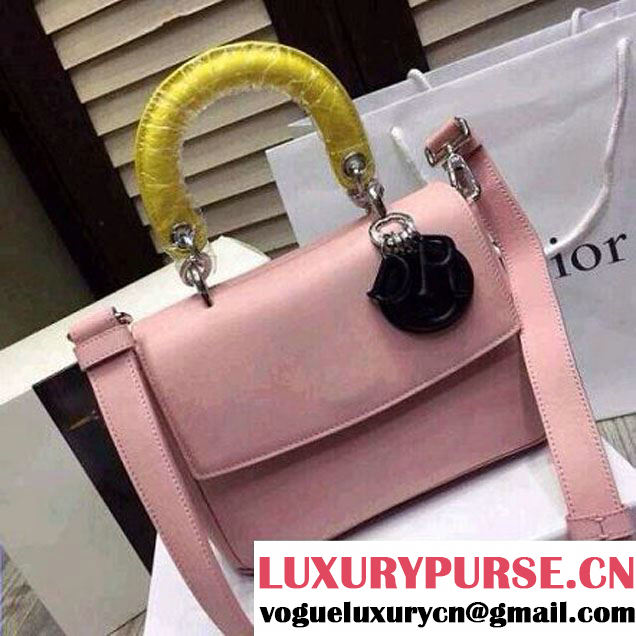 Be Dior Flap Tri-color Mini Bag In Pink (1A076-008 )