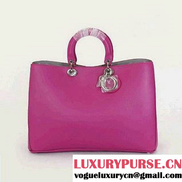 Dior Large Diorissimo Bag Nappa Leather Rosy