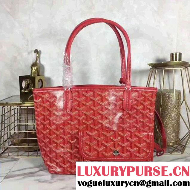 Goyard Mini Saint Louis Bag Red (1A171-7103021 )