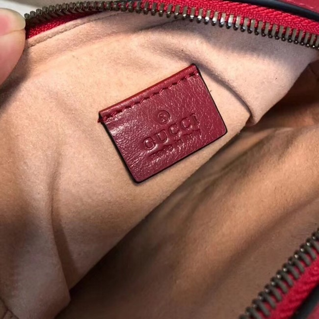 Gucci GG Marmont mini shoulder bag 550155 Red