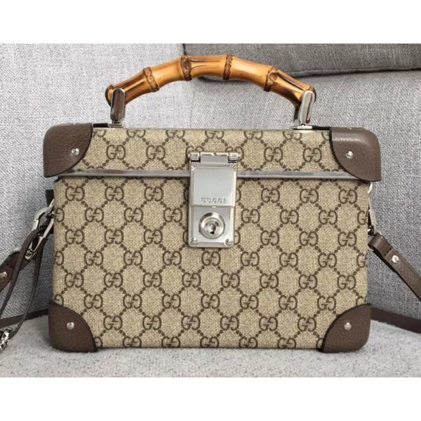 Gucci Globe-Trotter GG Beauty Case Bag 533623 2019