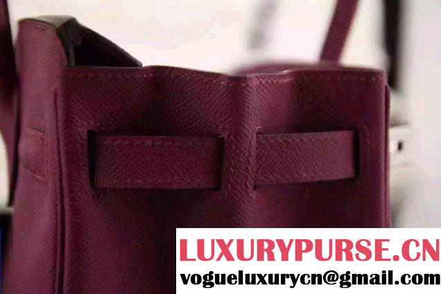 Hermes Birkin 30/35 Bag in Original Epsom Leather Bag Date Red