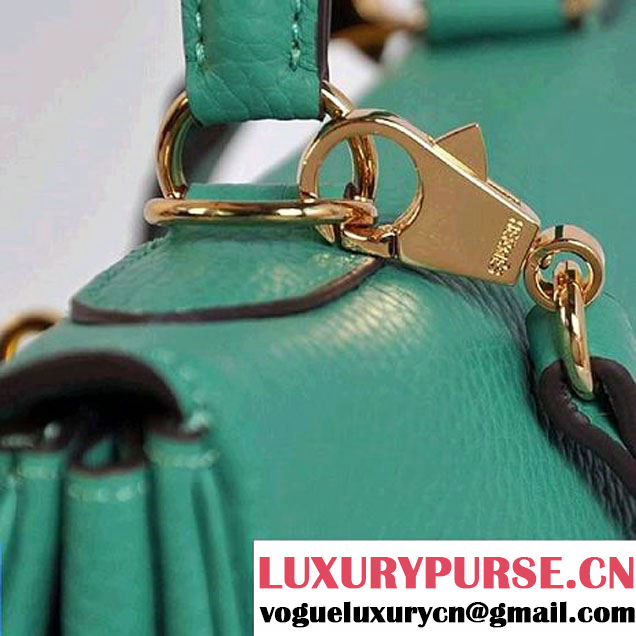 Hermes Kelly 32cm Bags Togo Leather Green Golden
