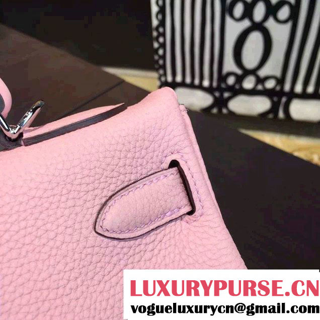 Hermes Kelly 32cm Bag in Original Leather Cheetah Pink 2016