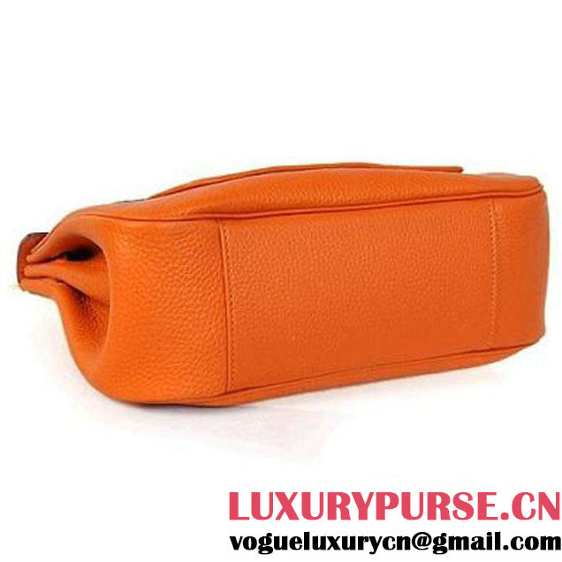 2012 Hermes Clemence Leather Bags Orange