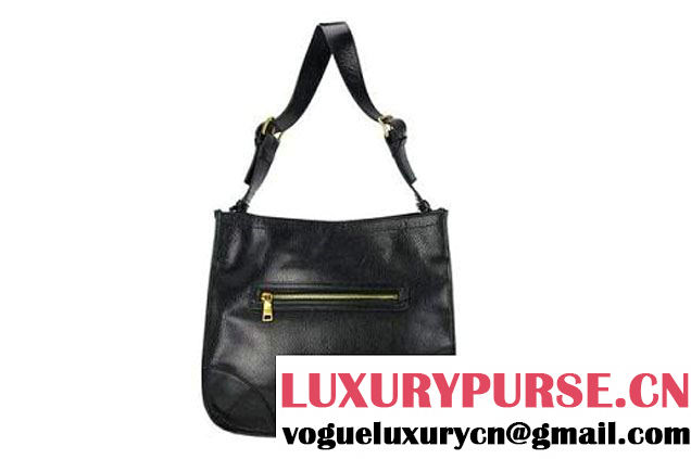 Prada Calf Leather Hobo Bag BR4737 Black