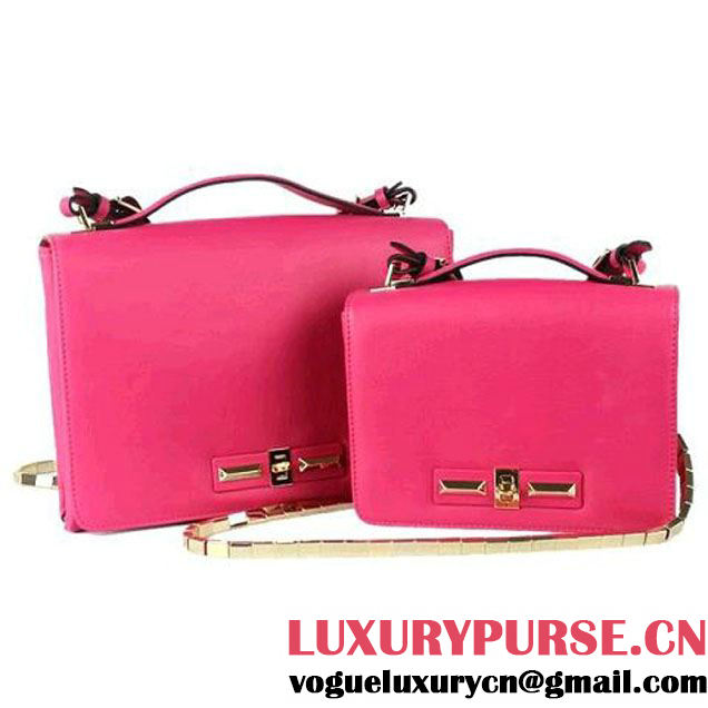 Valentino Garavani Flap Shoulder Bag 30cm V0082 Rose - $239.00