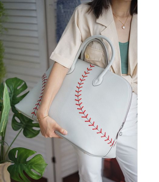 Hermes Bolide 45cm Bag White Imported Leather