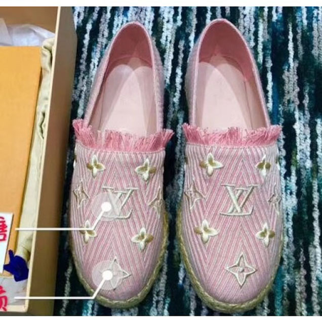 Louis Vuitton Sail Away Espadrilles Rose Clair 2018