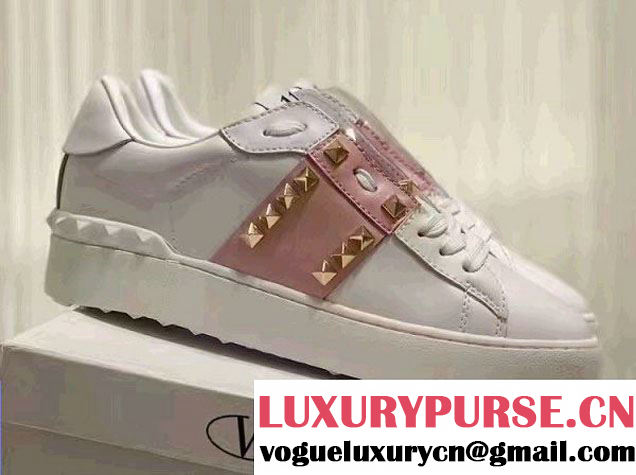 Valentino Rockstud Untitled Lovers Sneakers 2017