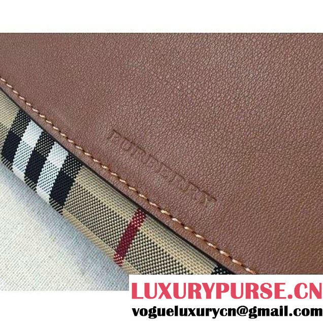 Burberry Calfskin And Horseferry Wallet In Brown (2A016-6030408 )