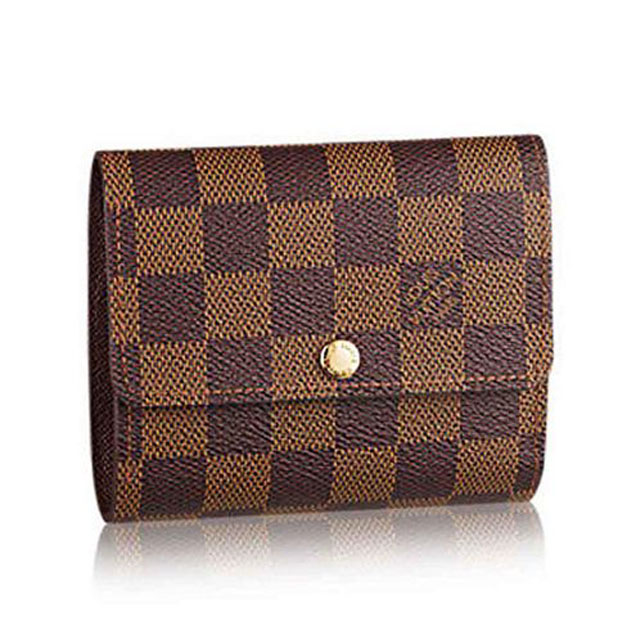 Louis Vuitton N63242 Anais Wallet Damier Ebene Canvas