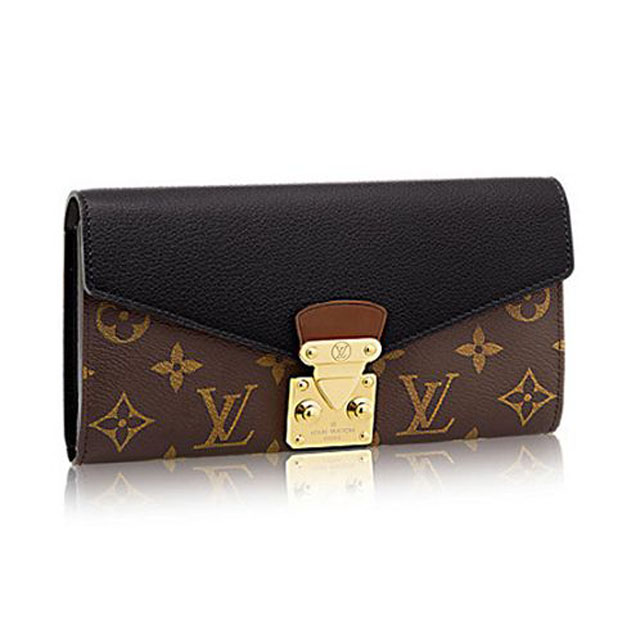 Louis Vuitton M58415 Pallas Wallet Monogram Canvas