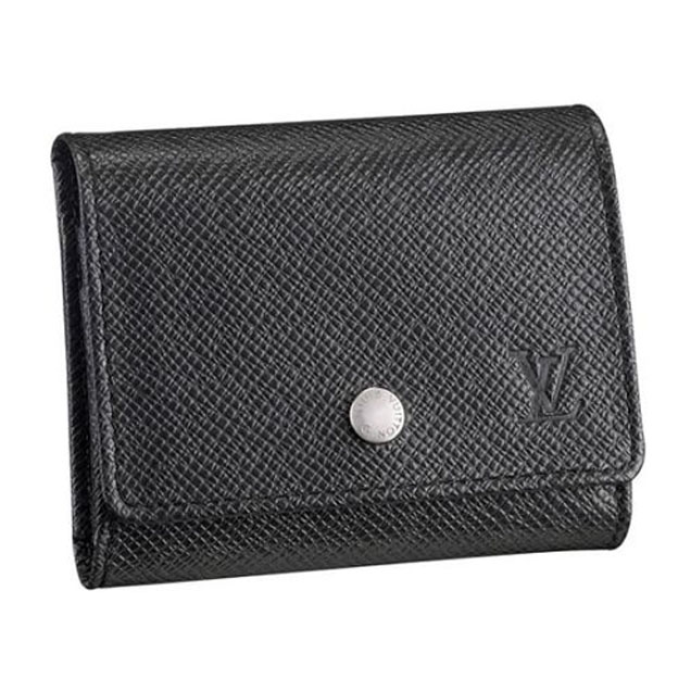 Louis Vuitton M32562 Serguei Wallet Taiga Leather